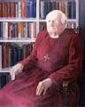 Arthur Michael Ramsey, Baron Ramsey of Canterbury, by Julia Sorrell - NPG 5486
