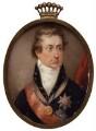Percy Clinton Sydney Smythe, 6th Viscount Strangford, by William Haines - NPG 5978
