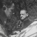 Graham Vivian Sutherland; Somerset Maugham, by Cecil Beaton - NPG P155