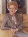 Margaret Thatcher, by Norman Parkinson - NPG P177