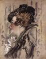 Violet Trefusis (née Keppel), by (Arthur) Derek Hill - NPG 5934