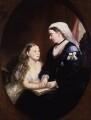 Princess Beatrice of Battenberg; Queen Victoria, by Unknown artist - NPG 5828