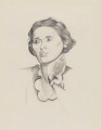 Dame Rebecca West (Cicily Isabel Andrews (née Fairfield)), by (Percy) Wyndham Lewis - NPG 5693