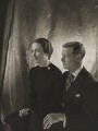 Wallis, Duchess of Windsor; Prince Edward, Duke of Windsor (King Edward VIII), by Cecil Beaton - NPG P268