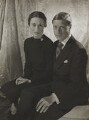 Wallis, Duchess of Windsor; Prince Edward, Duke of Windsor (King Edward VIII), by Cecil Beaton - NPG P270