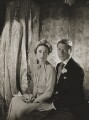 Wallis, Duchess of Windsor; Prince Edward, Duke of Windsor (King Edward VIII), by Cecil Beaton - NPG P273