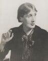 Virginia Woolf, by Man Ray (Emmanuel Radnitzky) - NPG P170
