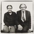 Gertrude Elizabeth Margaret Anscombe; Peter Thomas Geach, by Steve Pyke - NPG P464