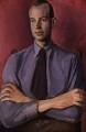John Banting, by Bernard Meninsky - NPG 6129