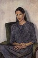 Tessa Ann Vosper Blackstone, Baroness Blackstone, by Annabel Cullen - NPG 6157