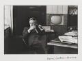 Hugh Cudlipp, Baron Cudlipp, by Henri Cartier-Bresson - NPG P432