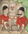 William Wentworth-Fitzwilliam, 8th Earl Fitzwilliam; William Wentworth-Fitzwilliam, 7th Earl Fitzwilliam, by Anthony Wysard - NPG 6116