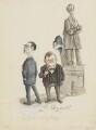 Michael Foot; Quintin McGarel Hogg, 1st Baron Hailsham of St Marylebone, by Anthony Wysard - NPG 6117