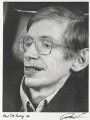 Stephen Hawking, by Juliet Van Otteren - NPG P489