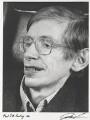 Stephen Hawking, by Juliet Van Otteren - NPG P489