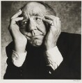 Sir Michael Hordern, by Alistair Morrison - NPG P486