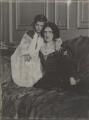 Julian Vinogradoff (née Morrell); Lady Ottoline Morrell, by Cavendish Morton - NPG P478