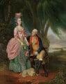 Mary Wilkes; John Wilkes, by Johan Joseph Zoffany - NPG 6133