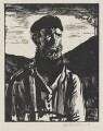 Unknown man, formerly known as Philip Arnold Heseltine, by Gerald Leslie Brockhurst - NPG 5377
