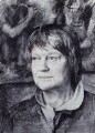 Iris Murdoch, by Tom Phillips - NPG 5944(1)