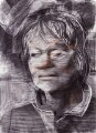 Iris Murdoch, by Tom Phillips - NPG 5944(3)