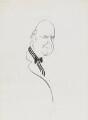 Noel Gilroy Annan, Baron Annan, by Mark Boxer - NPG 5920(2)