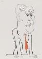Tony Benn, by Mark Boxer - NPG 5920(4)