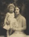 Queen Elizabeth II; Queen Elizabeth, the Queen Mother, by Marcus Adams - NPG P140(10)