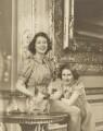 Queen Elizabeth II; Princess Margaret, by Marcus Adams - NPG P140(17)