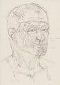 Sir Richard George Rogers, Baron Rogers of Riverside, by Sir Eduardo Luigi Paolozzi - NPG 6022(6)