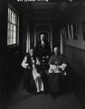 Church leaders (Frederick Donald Coggan, Baron Coggan; Stanley Arthur Turl; Basil Hume), by Arnold Newman - NPG P150(46)