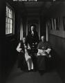 Church leaders (Frederick Donald Coggan, Baron Coggan; Stanley Arthur Turl; Basil Hume), by Arnold Newman - NPG P150(46)