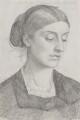 Rosalind Frances (née Stanley), Countess of Carlisle, by George James Howard, 9th Earl of Carlisle - NPG 6206