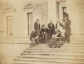 Visitors to Broadlands, 1859, possibly by Graham Vivian - NPG P153