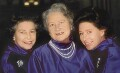 Queen Elizabeth II; Queen Elizabeth, the Queen Mother; Princess Margaret, by Norman Parkinson - NPG P200