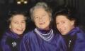 Queen Elizabeth II; Queen Elizabeth, the Queen Mother; Princess Margaret, by Norman Parkinson - NPG P200
