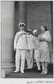 Louis Mountbatten, Earl Mountbatten of Burma; Jawaharlal Nehru; Edwina Cynthia Annette, Countess Mountbatten of Burma, by Henri Cartier-Bresson - NPG P434