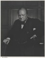 Winston Churchill, by Yousuf Karsh - NPG P490(16)