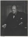 Winston Churchill, by Yousuf Karsh - NPG P490(16)