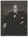 Winston Churchill, by Yousuf Karsh - NPG P490(17)