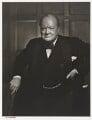 Winston Churchill, by Yousuf Karsh - NPG P490(17)