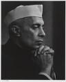 Jawaharlal Nehru, by Yousuf Karsh - NPG P490(57)