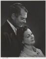 Laurence Kerr Olivier, Baron Olivier; Vivien Leigh, by Yousuf Karsh - NPG P490(60)