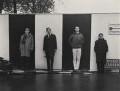 'Beyond the Fringe' (Alan Bennett; Peter Edward Cook; Jonathan Miller; Dudley Moore), by Lewis Morley - NPG P512(22)