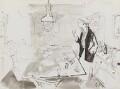 Elizabeth David, by John Stanton Ward - NPG 6217