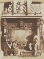 Sir Robert Dennistoun's Tomb, by David Octavius Hill, and  Robert Adamson - NPG P6(220)