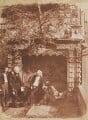 The Nasmyth Tomb, by David Octavius Hill, and  Robert Adamson - NPG P6(230)
