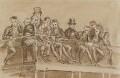 Group in left gallery, by Sir George Hayter - NPG 1695(v)