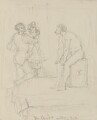 A sculptor at work, by Charles West Cope - NPG 3182(18)