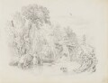 River scene, attributed to John Partridge - NPG 3944(12)
